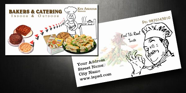 Catering Business Card Ideas Lovely All Posts Tagged with Catering Service Visiting Cards