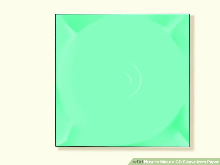 Cd Paper Sleeve Template Beautiful How to Make A Cd Sleeve From Paper 13 Steps with