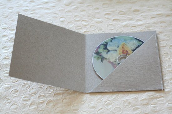 Cd Paper Sleeve Template Beautiful Paper and Thread Studio Blog