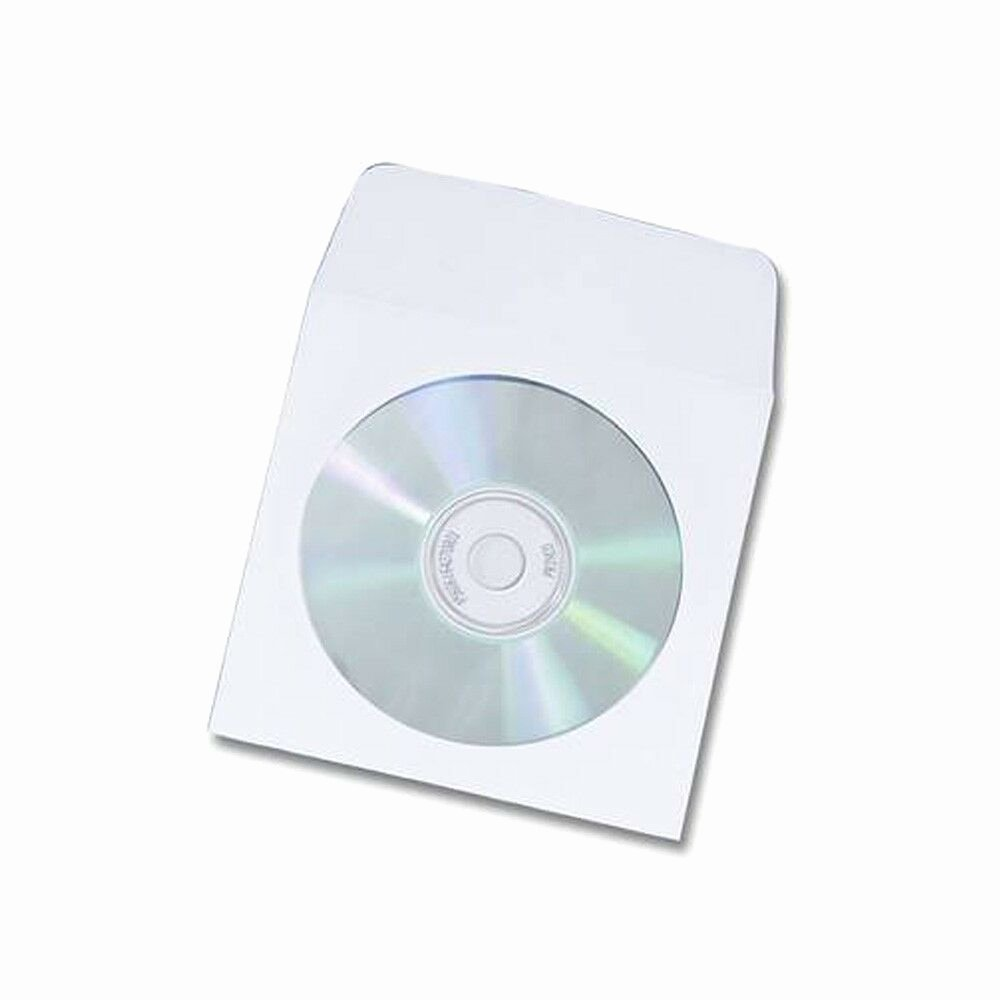 Cd Paper Sleeve Template Fresh New 100 Paper Cd Dvd Paper Sleeve Window Flap Envelope