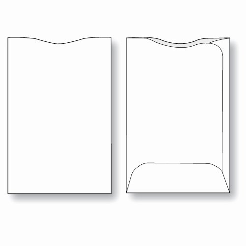 Cd Paper Sleeve Template Inspirational Gift Card Envelope Style A Unprinted