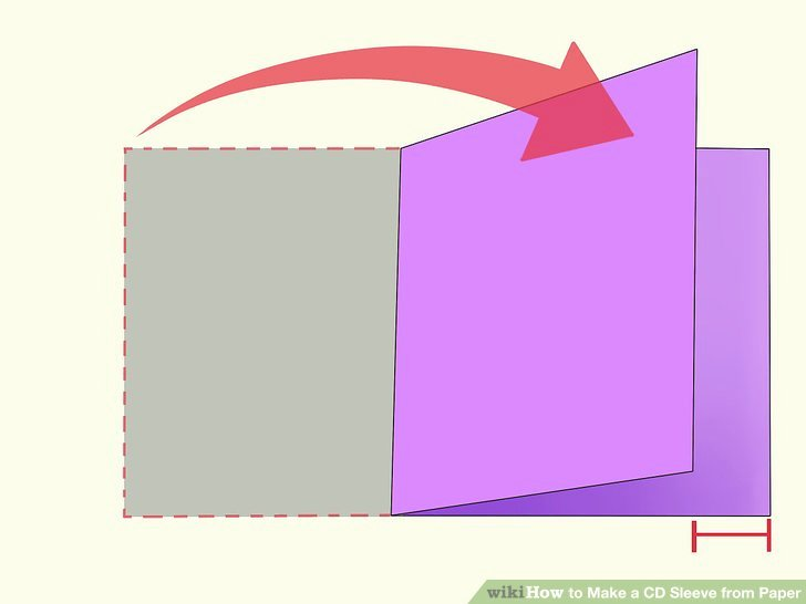 Cd Paper Sleeve Template New How to Make A Cd Sleeve From Paper 13 Steps with