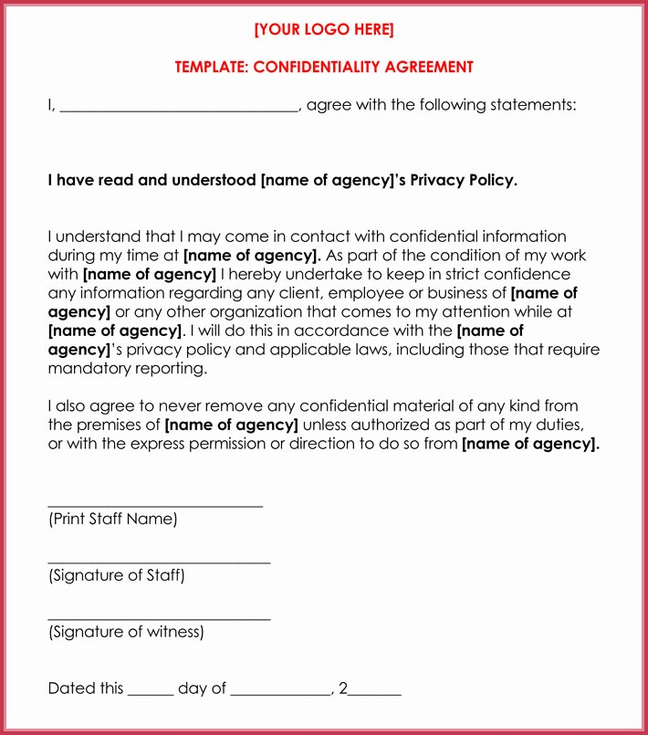 Celebrity Non Disclosure Agreement Beautiful Celebrity Confidentiality Nda Agreement Samples and Writing Guide