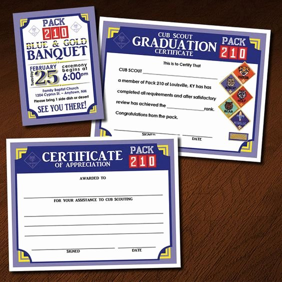 Certificate Of Appreciation Graduation Inspirational Blue Gold Graduation and Scouts On Pinterest