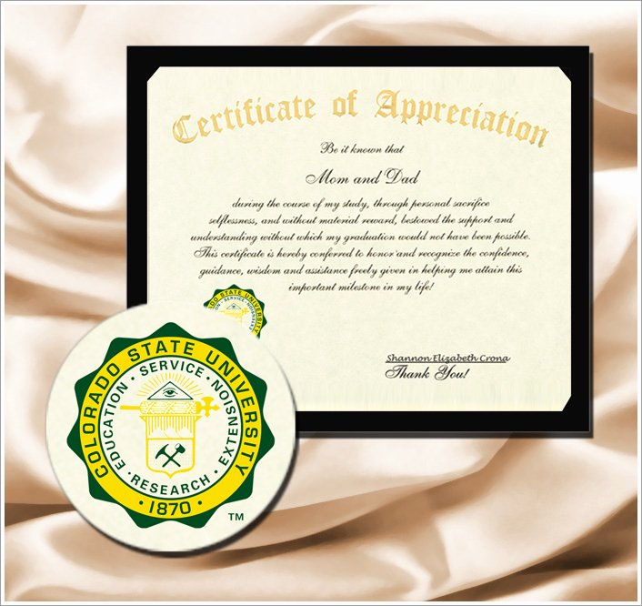 Certificate Of Appreciation Graduation Inspirational Wel E to the Signature Announcements College Graduation Website