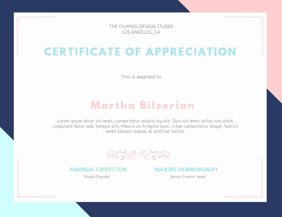 Certificate Of Appreciation Graduation Lovely Custom Certificate Of Appreciation Graduation Diploma Template Modern