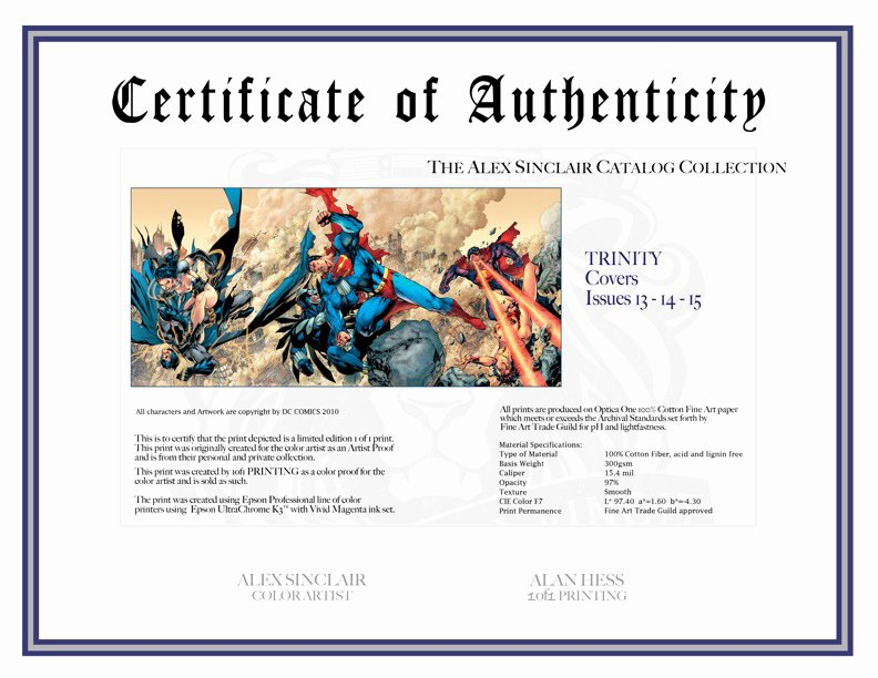 Certificate Of Authenticity Artwork Template Elegant Certificate Of Authenticity by Sinccolor On Deviantart