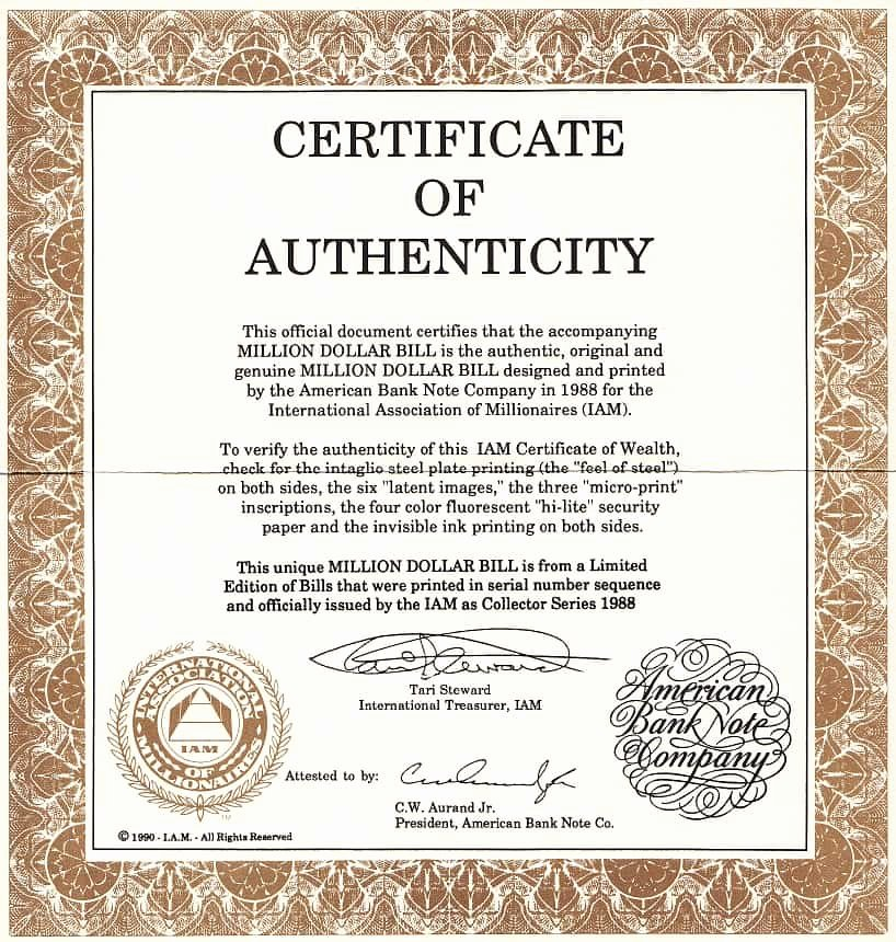 Certificate Of Authenticity Autograph Template Fresh 12 Certificate Authenticity Templates Word Excel Samples