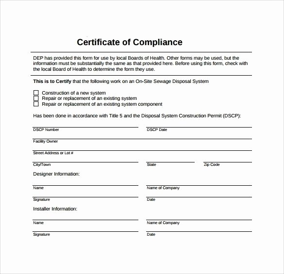 Certificate Of Compliance Template New Certificate Pliance Template – Aipc2006 Inside Certificate Pliance Template 2018