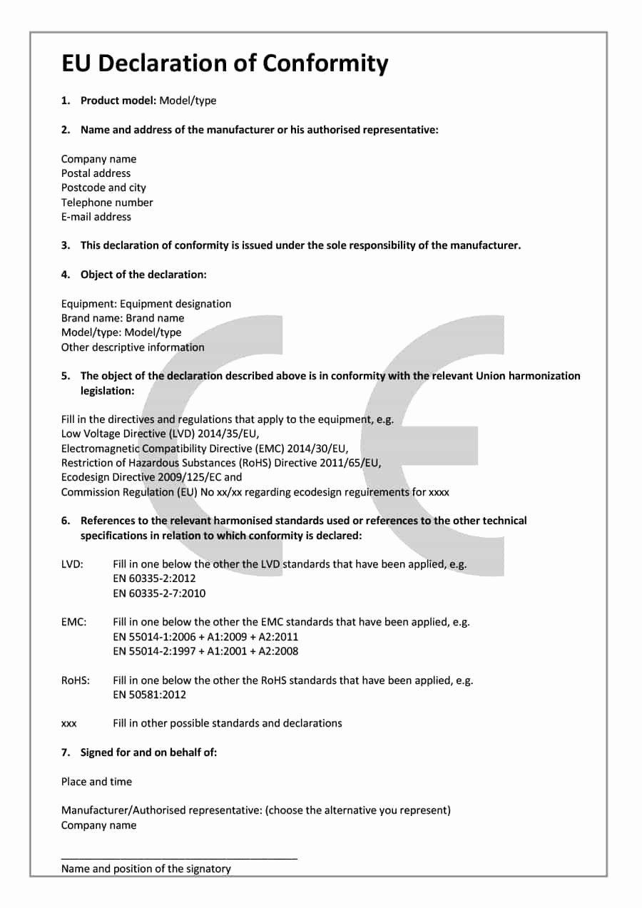 Certificate Of Conformance Template Beautiful 40 Free Certificate Of Conformance Templates & forms Template Lab