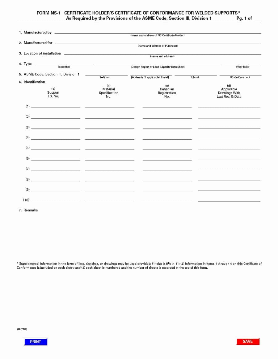 Certificate Of Conformance Template Lovely 40 Free Certificate Of Conformance Templates & forms Template Lab