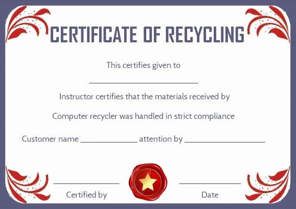 Certificate Of Destruction form Best Of 8 Best Certificate Of Destruction Images On Pinterest