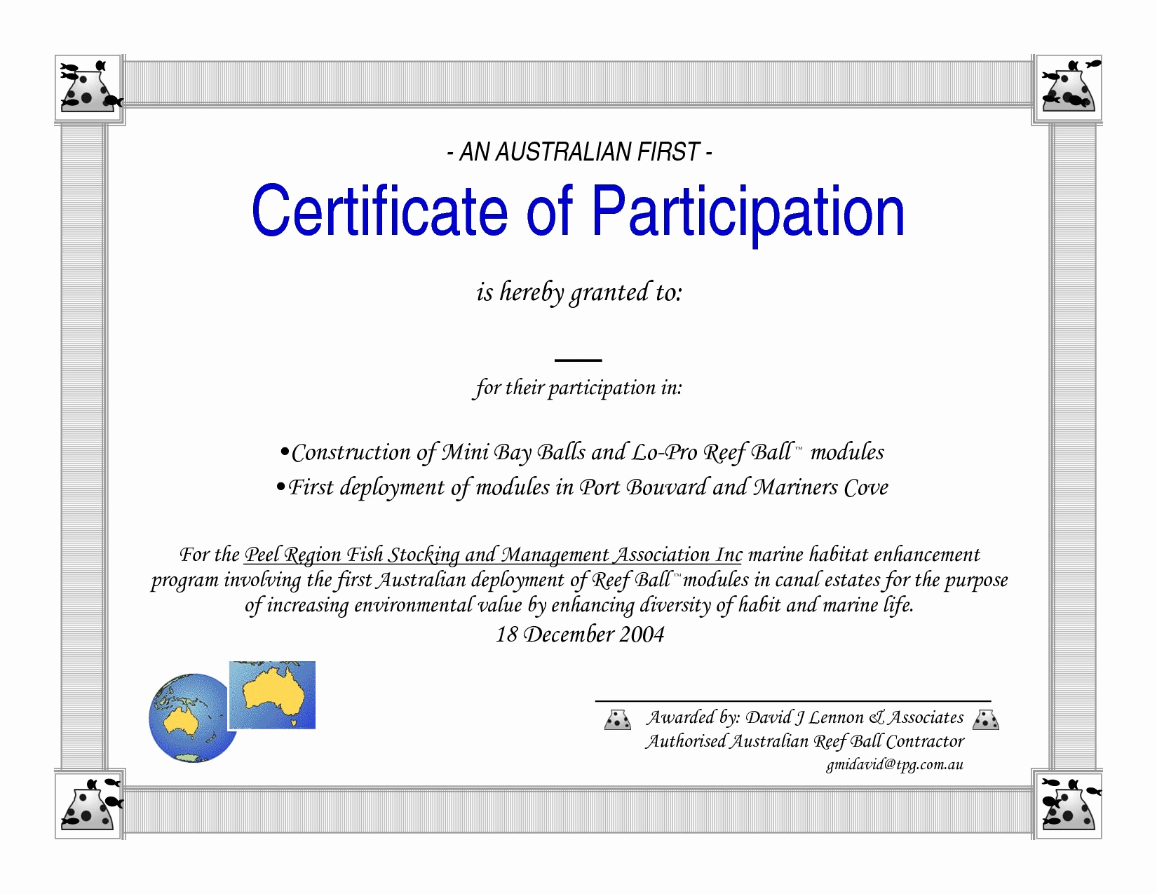 Certificate Of Participation Template Inspirational Participation Certificate Template Word