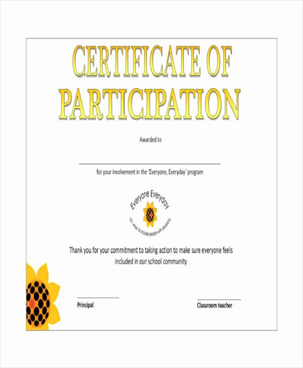 Certificate Of Participation Template Unique Download Fluid Mechanics with Problems and solutions and