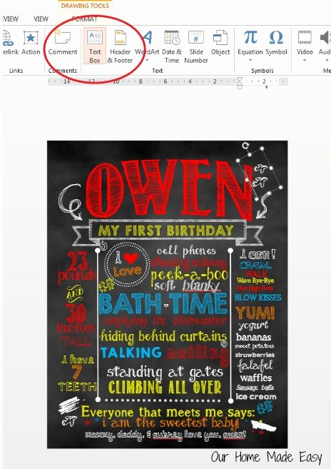 Chalkboard Birthday Sign Template Best Of How to Make A Birthday Chalkboard without Shop – Our Home Made Easy