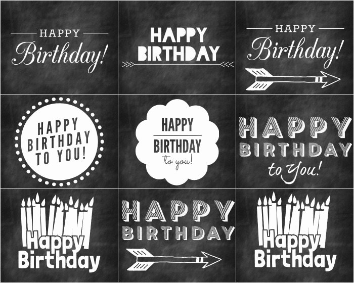 Chalkboard Birthday Sign Template Lovely Free Chalkboard Printables for Birthday and Wel E