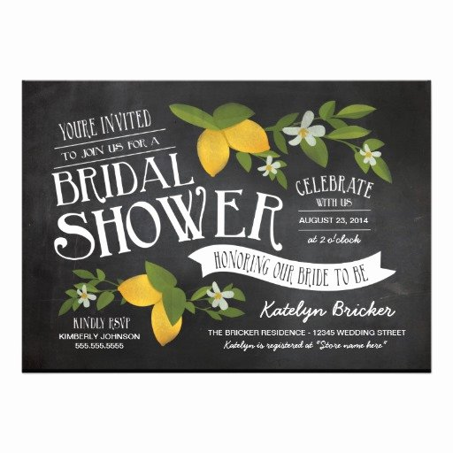 "Chalkboard Bridal Shower Invitations Awesome Farm to Table Chalkboard Bridal Shower Invites 5"" X 7"" Invitation Card"