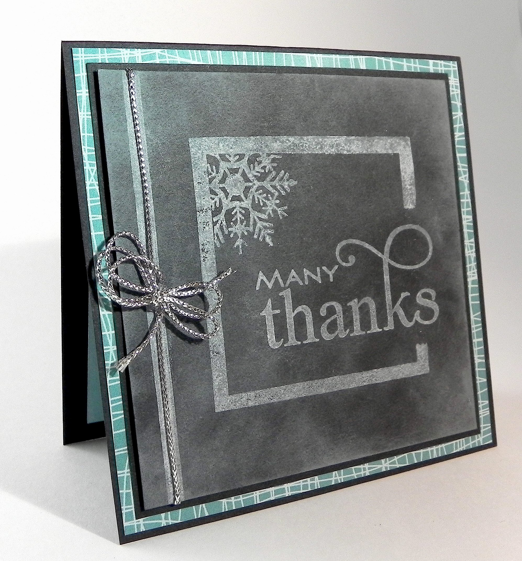 Chalkboard Thank You Cards Awesome Chalkboard Thank You Card
