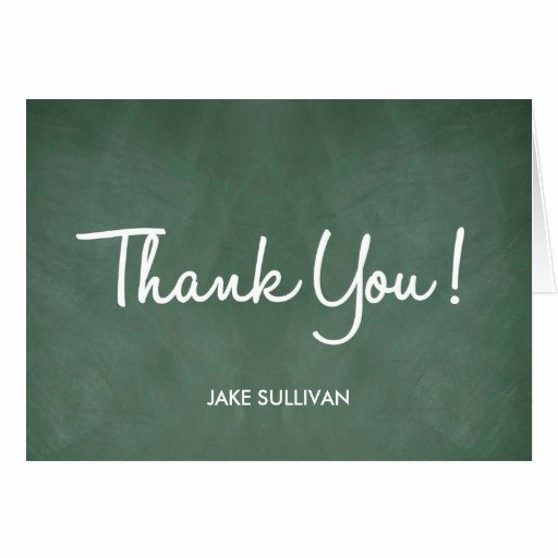 Chalkboard Thank You Cards Best Of Chalkboard Writing Thank You Card