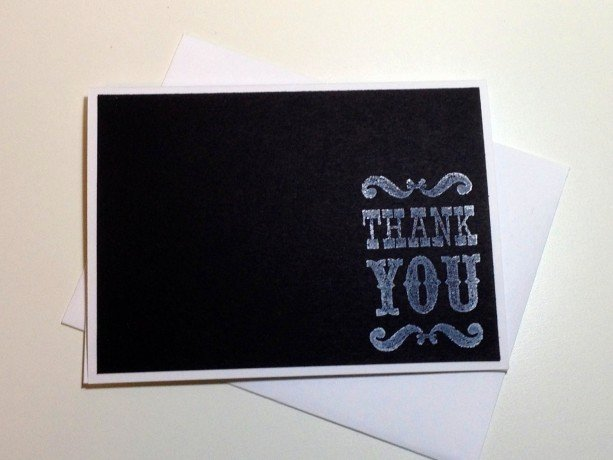 Chalkboard Thank You Cards Fresh Chalkboard Wedding Thank You Card Set Vintage Chalkboard Thank Y