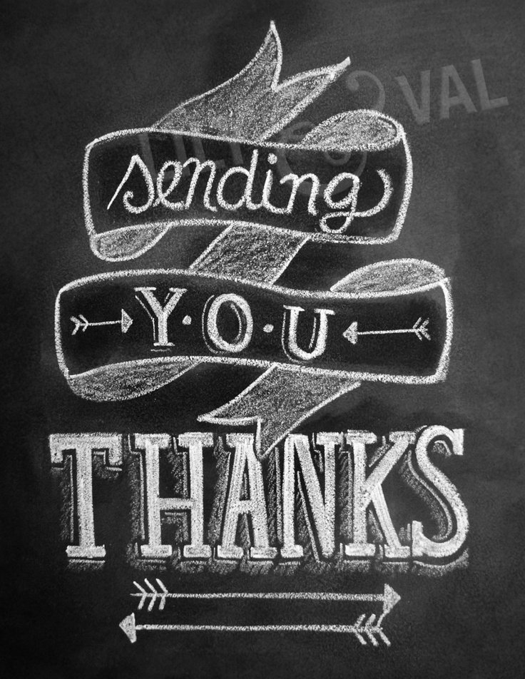 Chalkboard Thank You Cards Luxury Arrow Card Thank You Card Chalkboard Thank You Card Sending You Thanks Hand Lettered