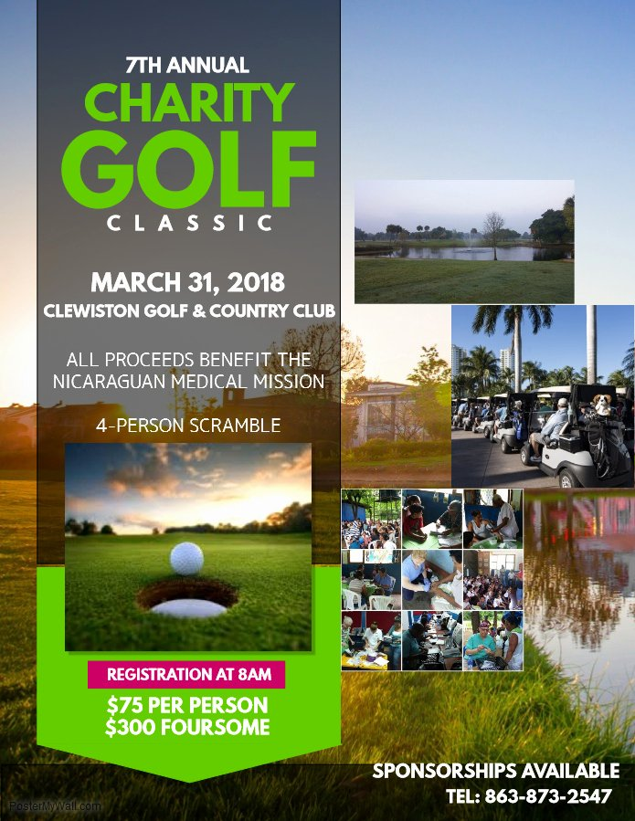 Charity Golf tournament Flyer Awesome 2018 Charity Golf Classic – Nicaraguan American Nurses association Nana