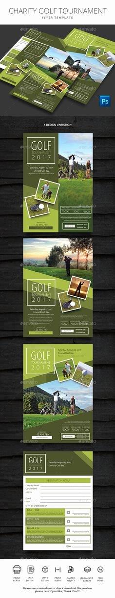 Charity Golf tournament Flyer Beautiful Golf tournament Flyer Design Inspiration Pinterest