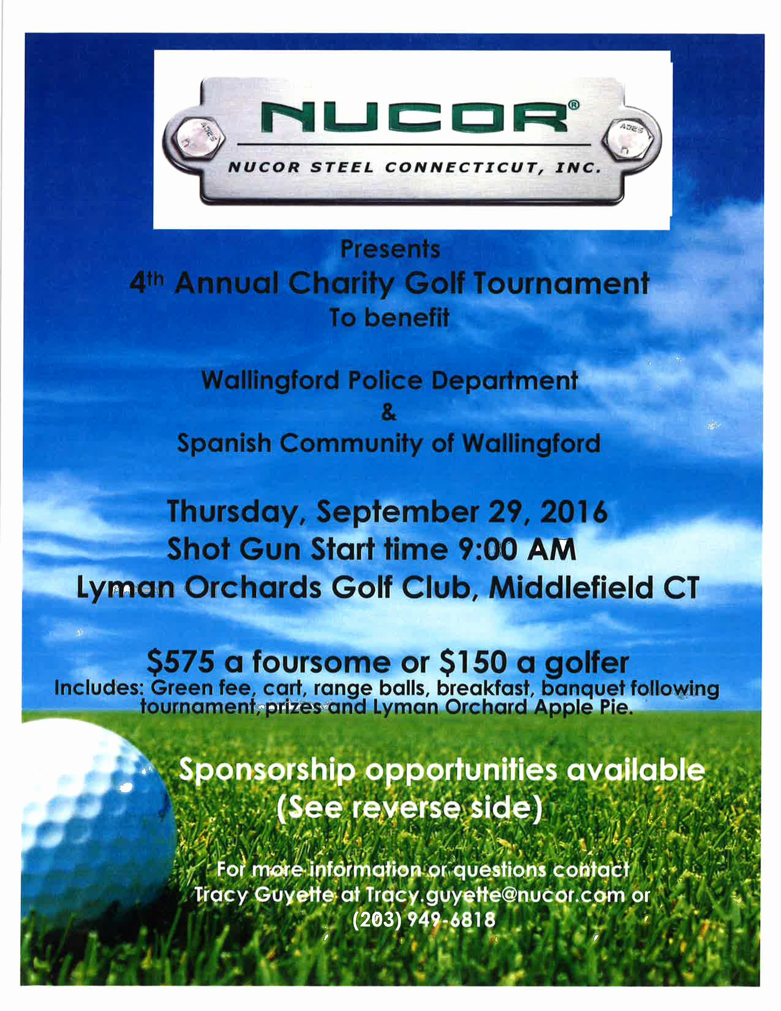Charity Golf tournament Flyer Lovely 4th Annual Charity Golf tournament Scow Inc