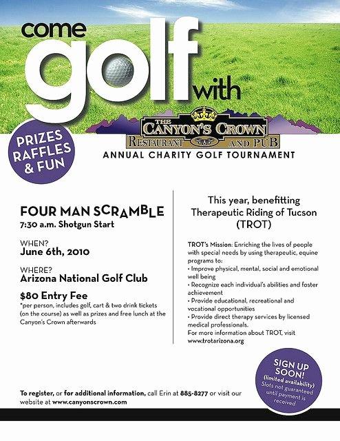Charity Golf tournament Flyer New Charity Golf tournament Flyer Design Fund Raiser Ideas