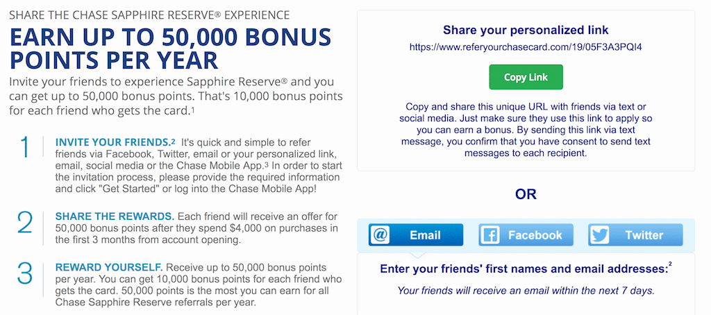 Chase Bank Statement Generator Elegant Chase Refer A Friend Get Bonuses for Credit Cards & Bank Accounts [2018]