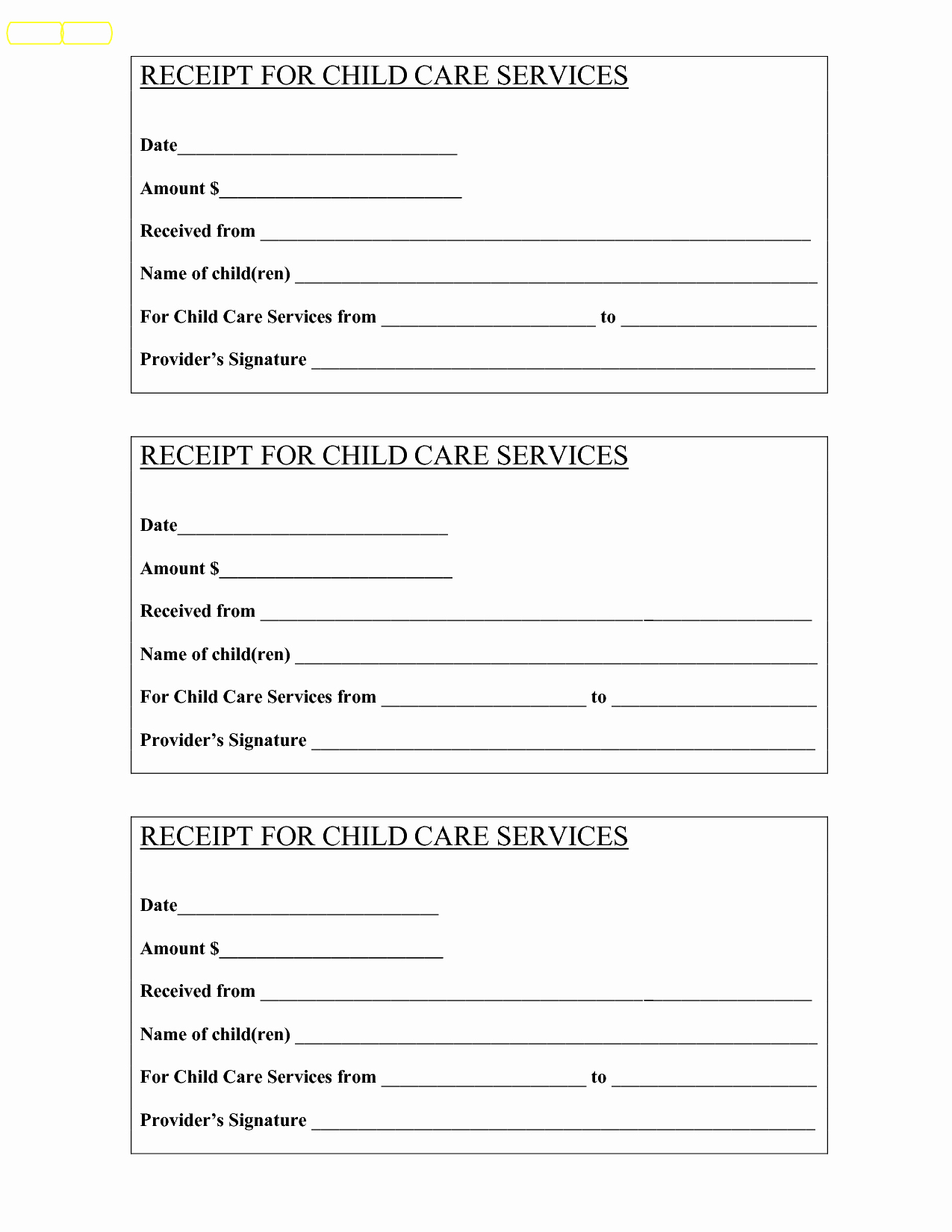 Child Care Receipt Template Elegant Babysitting Receipt Bing Baby Pinterest
