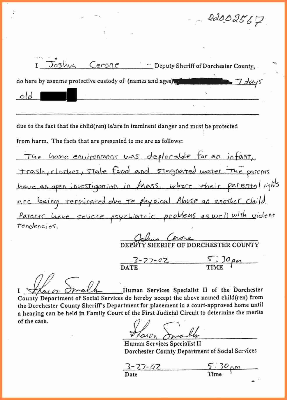 Child Support Agreement Letter Beautiful Sample Child Support Agreement Between Parents Seven Things