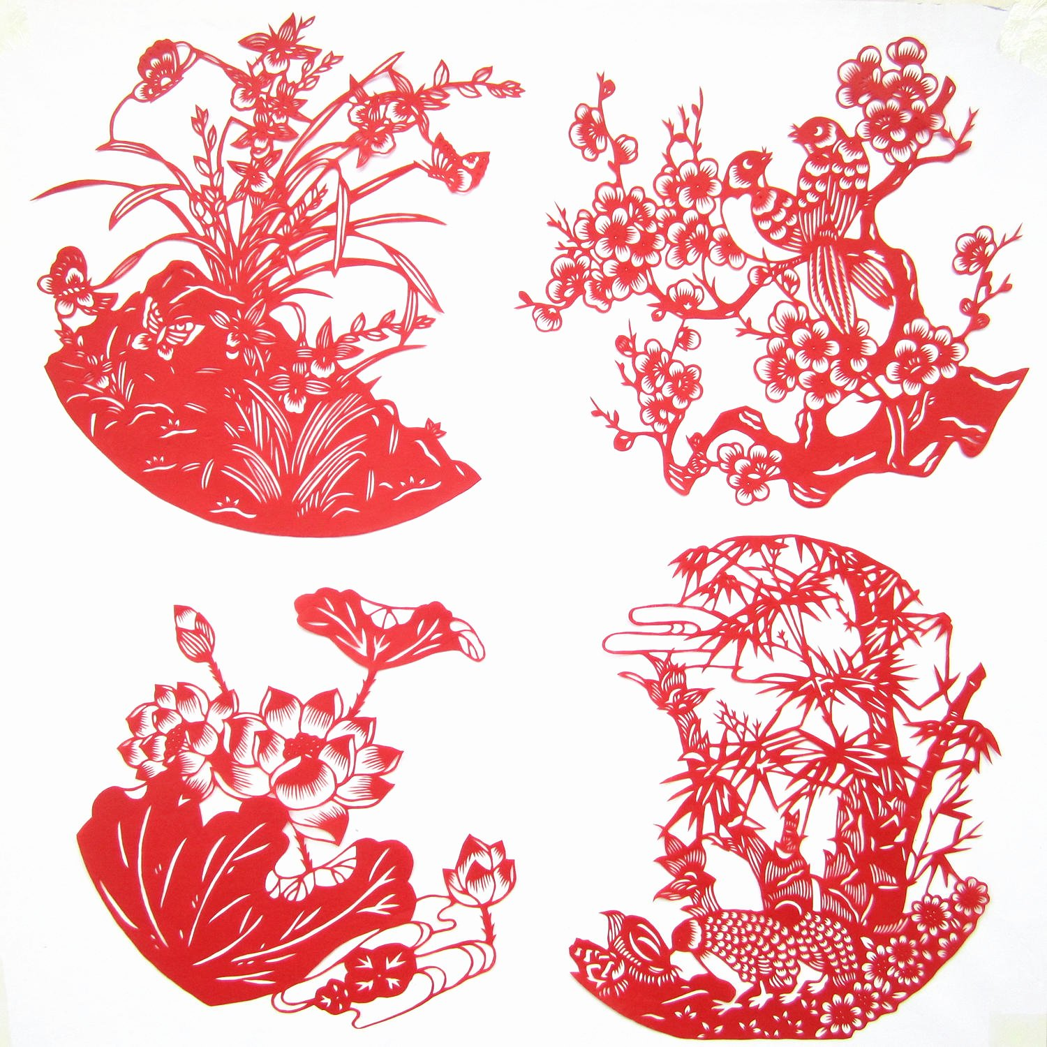 Chinese Paper Cuts Templates Fresh 2014 Chinese Paper Cut Specialty Handmade Bamboo Merlin