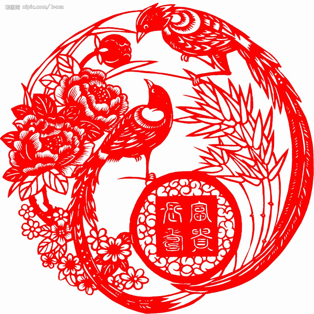 Chinese Paper Cuts Templates Lovely Chinese Paper Cutting Chinese Folk Customs Chinese Folk Arts