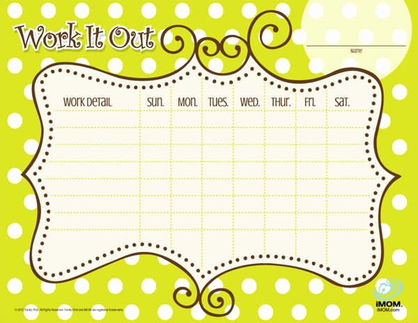 Chore Chart for Teens Elegant Chore Charts for Teenagers Imom