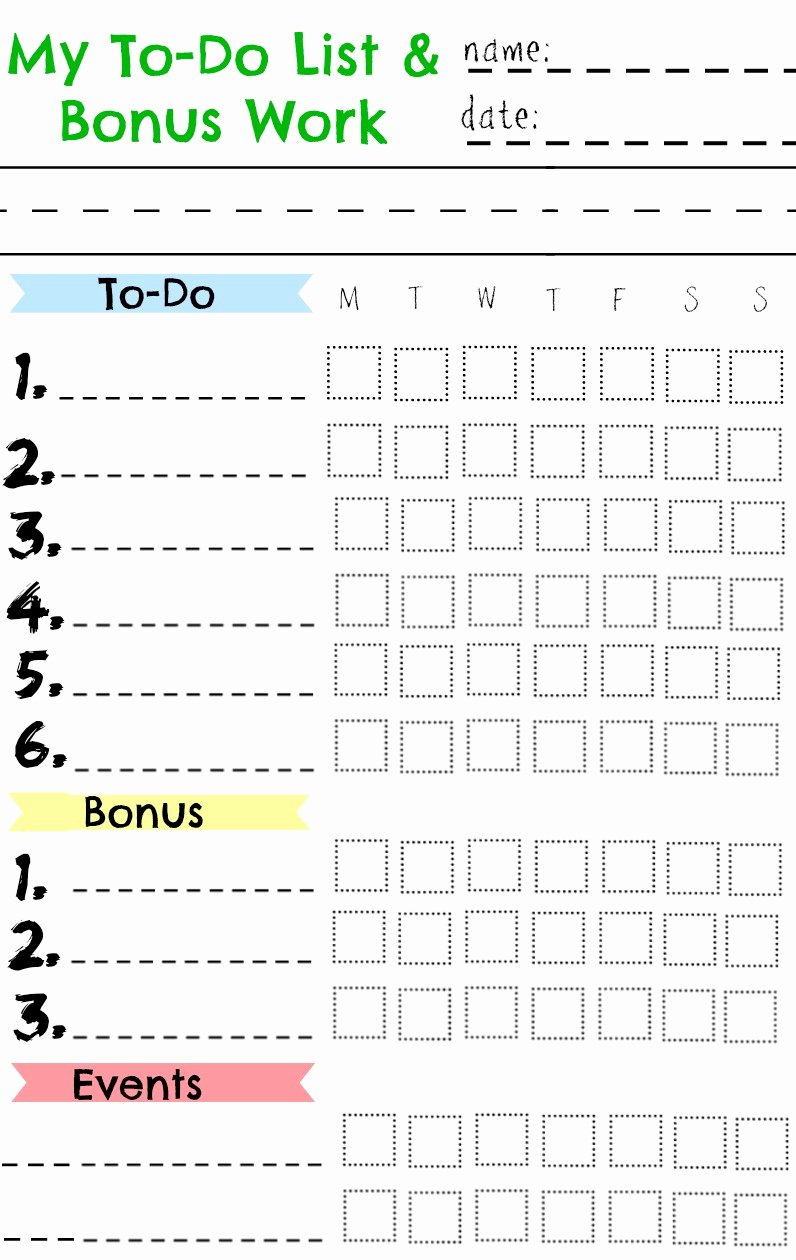 Chore Chart for Teens Elegant Kids Chore Chart Great for A Summer Chart Nesting with Grace