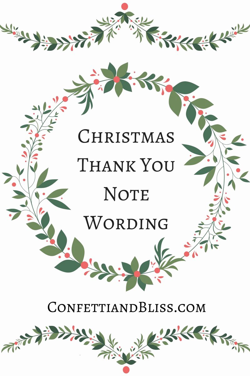Christmas Thank You Notes Best Of Christmas Thank You Notes Christmas Dinner