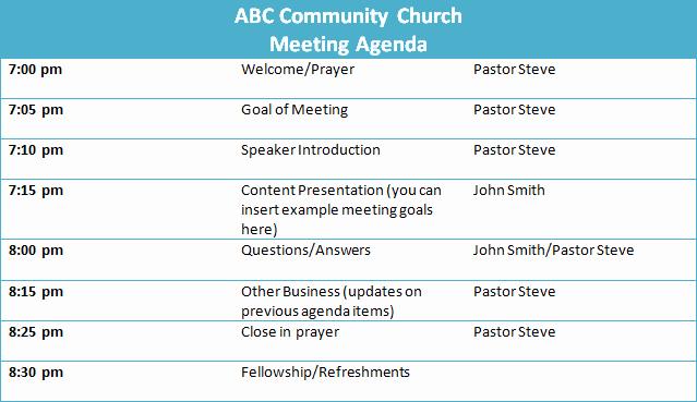 Church Board Meeting Agenda Fresh Best S Of organizational Planning Meeting Agenda Sample Sample Business Meeting Agenda