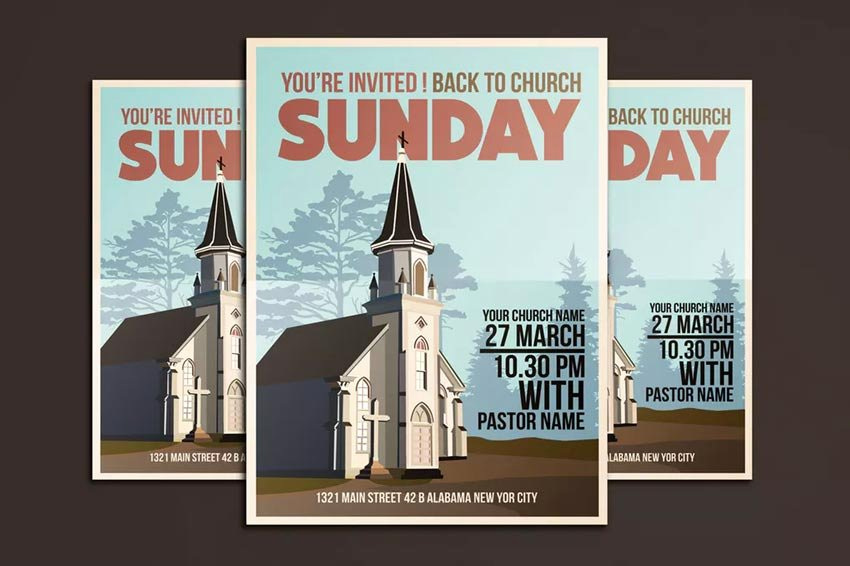 Church Bulletin Templates Indesign Best Of 31 Best Church Flyer Templates Psd & Indesign Flyer Templates