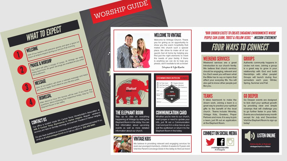 Church Bulletin Templates Indesign Best Of Bulletin Worship Guide Adobe Indesign Template — E Church Resource