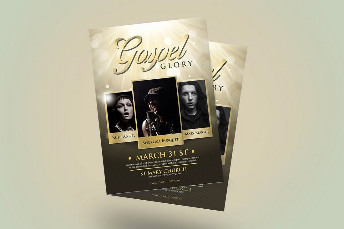 Church Bulletin Templates Indesign Elegant 20 Church Bulletin & Newsletter Templates