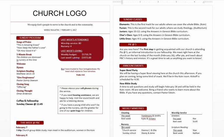 Church Bulletin Templates Indesign Luxury Church Bulletin Templates