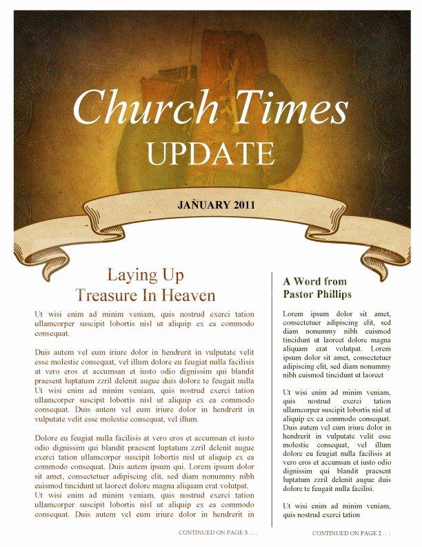 Church Bulletin Templates Microsoft Publisher Awesome Bat Church Newsletter Template Template