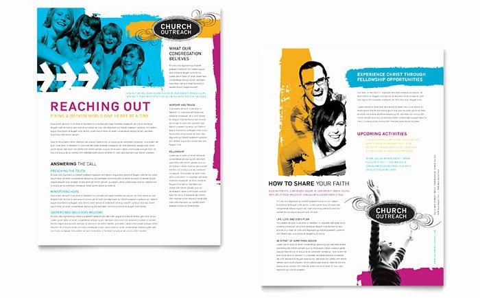 Church Bulletin Templates Microsoft Publisher Lovely Creative Church Bulletins & Christian Newsletters