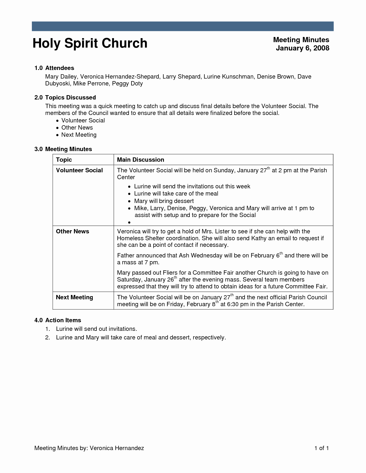 Church Business Meeting Minutes Template Fresh Other Template Category Page 99 Vinotique