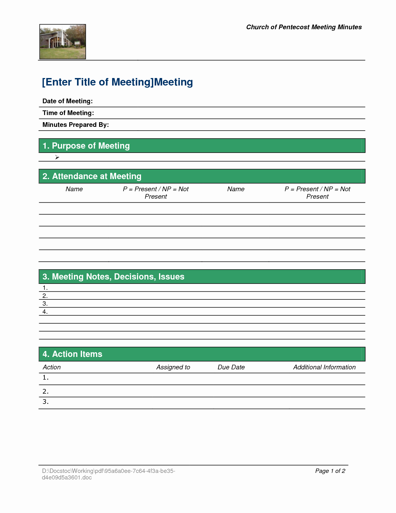 Church Business Meeting Minutes Template Unique Best S Of Pentacostal Church Conduct Meetings Free Church Meeting Minutes Template