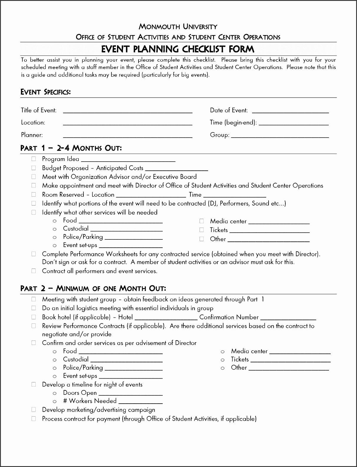 Church event Planning Checklist Awesome 5 Church event Planning Checklist Outline Sampletemplatess Sampletemplatess