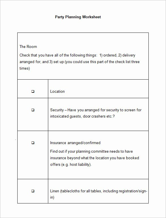 Church event Planning Worksheet Fresh 5 event Planning Worksheet Templates Free Word Documents Download