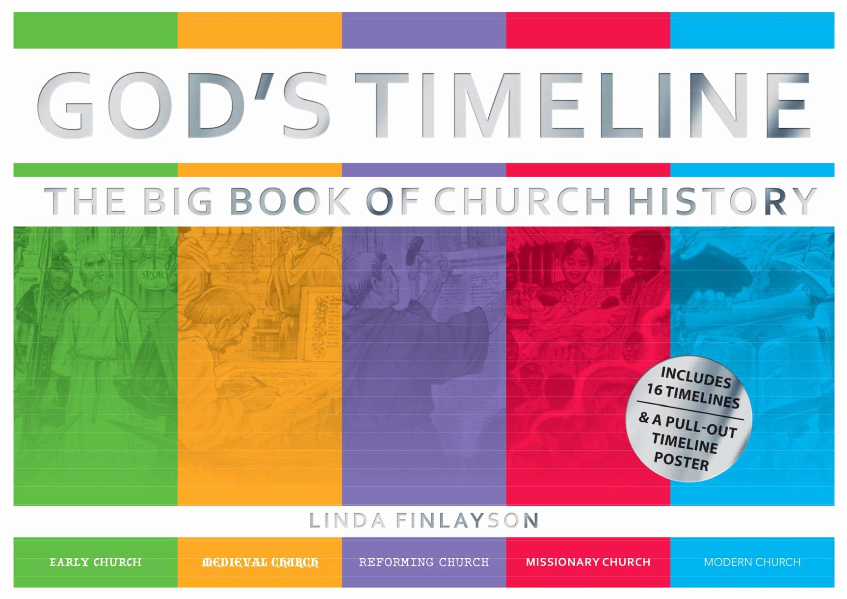 Church History Timeline Pdf Inspirational Books at A Glance God S Timeline the Big Book Of Church History by Linda Finlayson Books