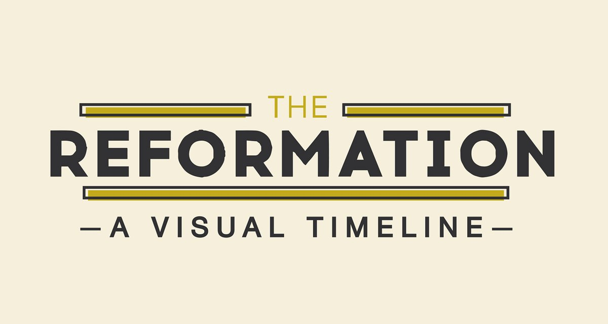 Church History Timeline Pdf New the Reformation A Visual Timeline